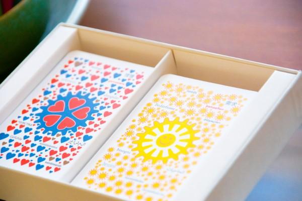 kaarten in doosje