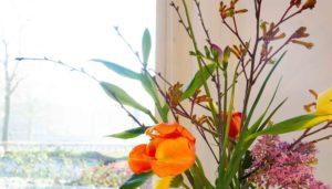 bloemen op tafel irma